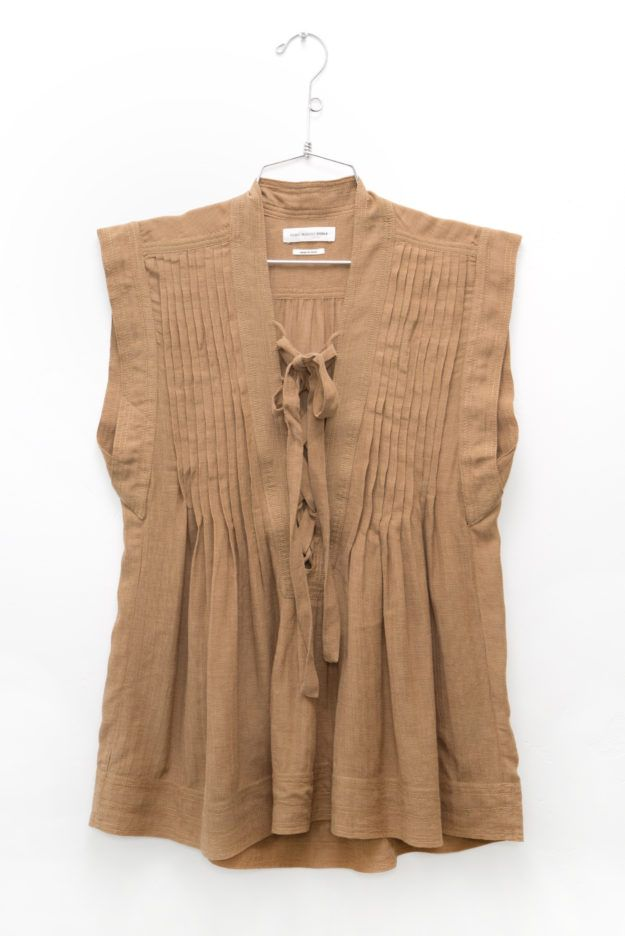 Isabel Marant Kenny Top in Ficelle | DIANI Boutique