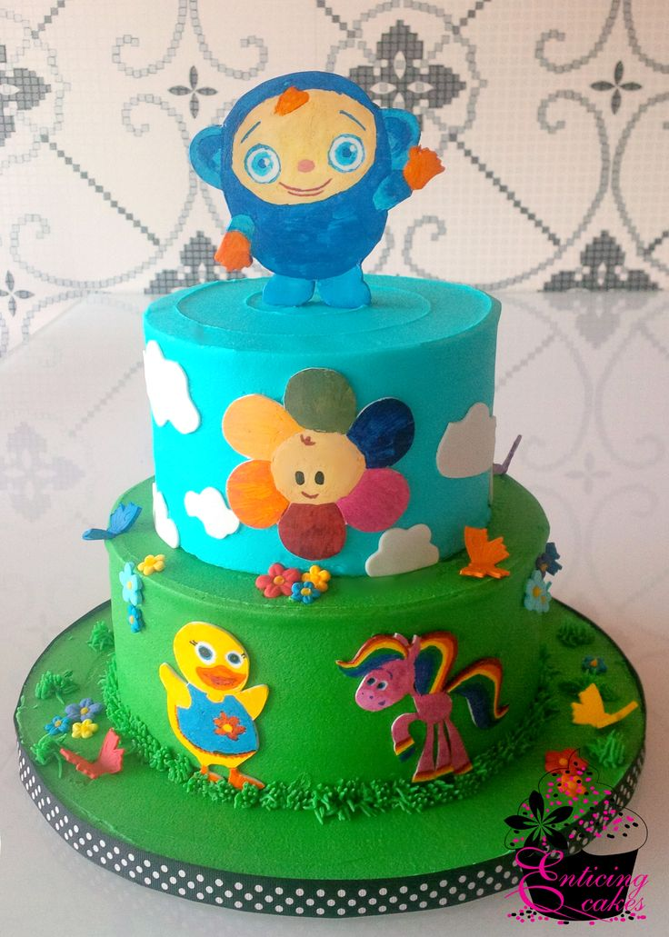 Cake Decorating Ideas For Baby S First Birthday : BabyFirst TV Cake Baby s first bday ideas Pinterest ...