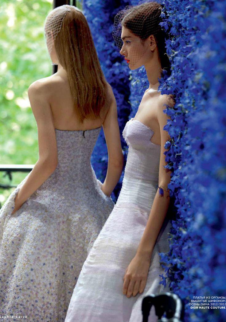 Behind Dior F/W 2012♥