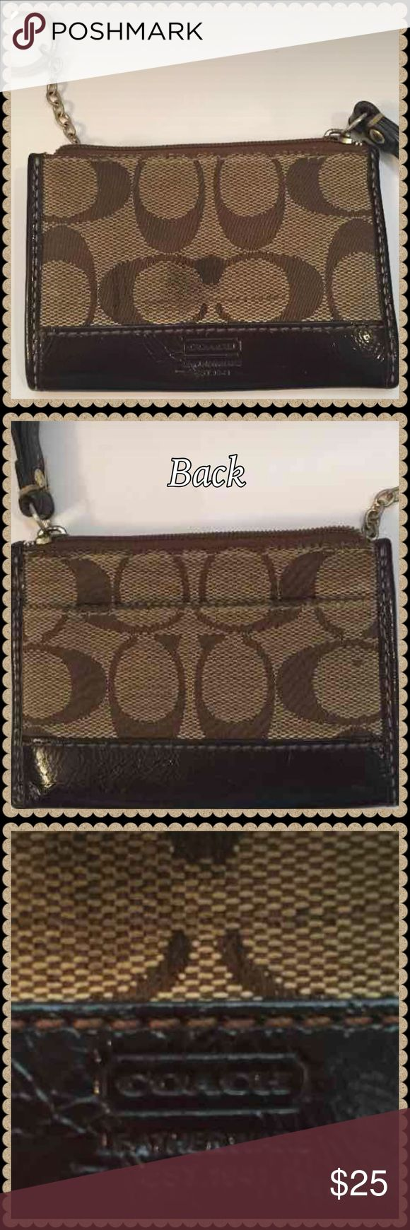 coach key/credit card holder coach key/credit card holder can also store business cards Coach Accessories Key & Card Holders