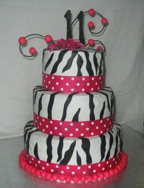 Pink Diva Cake - 11 Year Old Female Birthday Party