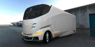 Future Mitsubishi Truck in the year 2032