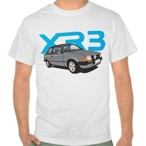 Ford Escort MK3 XR3 grey  #ford #escort #fordescort #mk3 #xr3 #tshirt #thirts #automobile #car #uk
