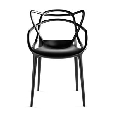Masters Chair DWR $269 white, black indoor / outdoor -- that's appealing! Also at Found it at AllModern - Kartell Masters Chair (Set of 2) $538 for 2 sage green, mustard