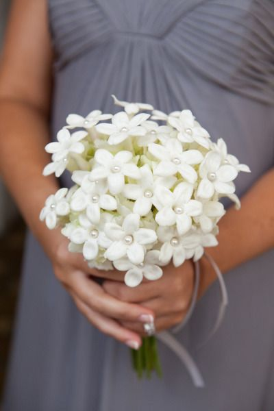 Little Posy of Stephanotis, lucky bridesmaid!