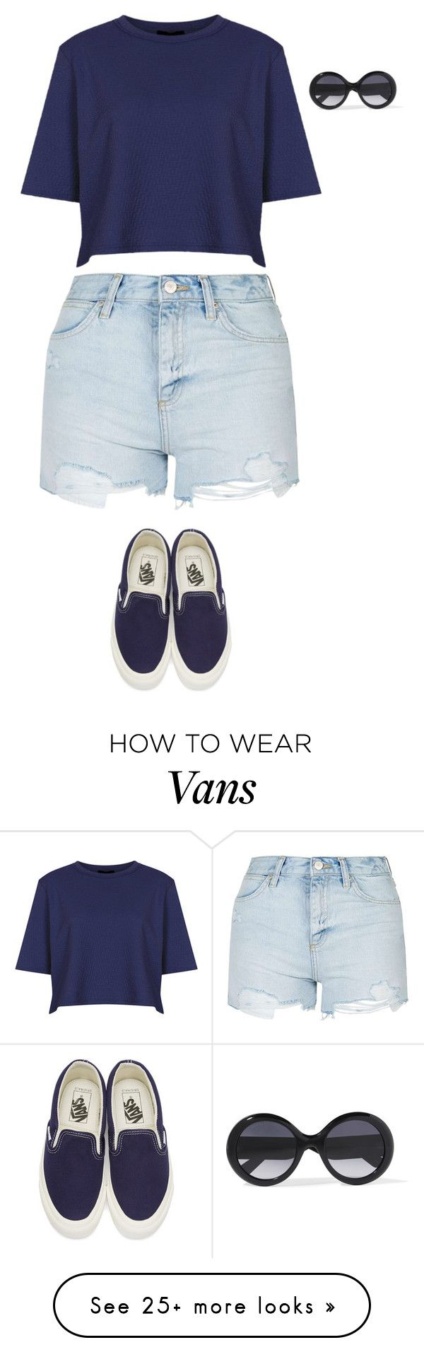 """""""Topshop, Vans, Gucci"""" by shaidnns on Polyvore featuring Topshop, Vans and Gucci"""