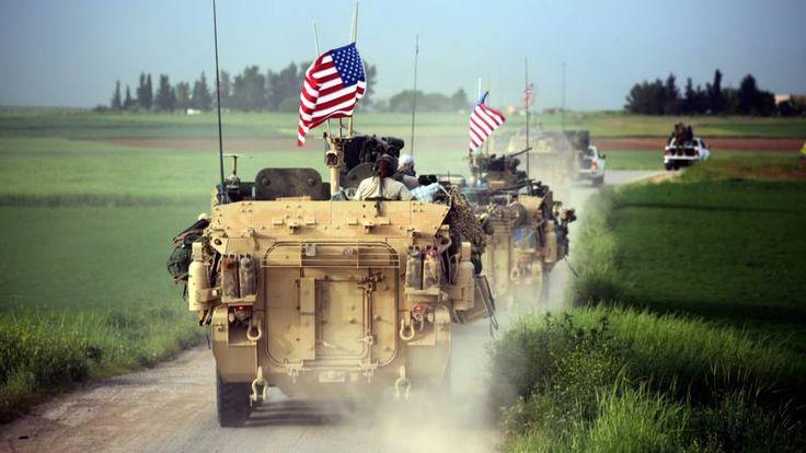 'Amerikaanse pantservoertuigen langs Turks-Syrische grens'   NOS