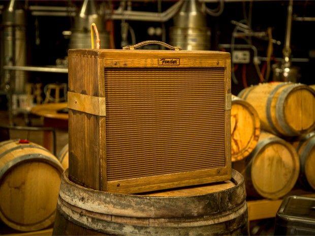 Fender cria amplificador feito a partir de barris de maturação de uísque