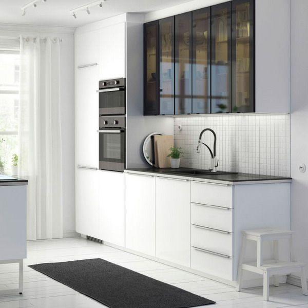 Что интересного в новых кухнях Метод ИКЕА. Чем они отличаются от прежних икеевских кухонь. Подробный обзор и 60 фото новой кухонной мебели ИКЕА в деталях.