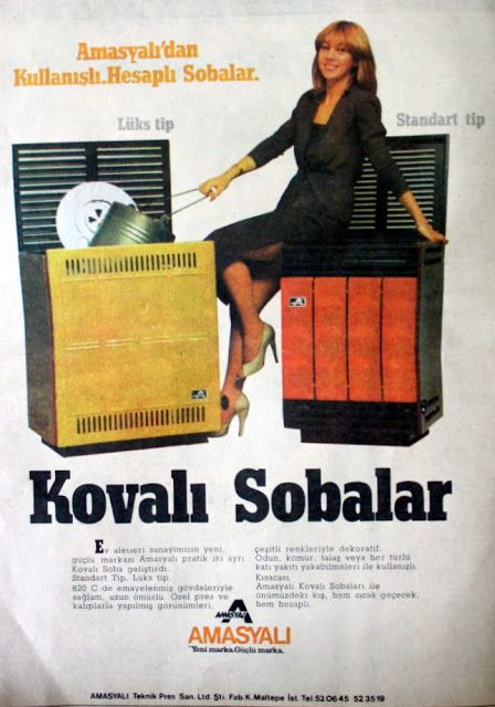 OĞUZ TOPOĞLU : amasyalı kovalı soba 1980 nostaljik eski soba rekl...