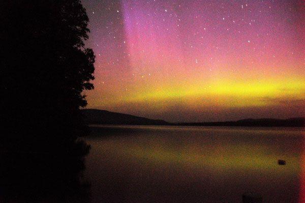 Northern Lights Farmington Maine