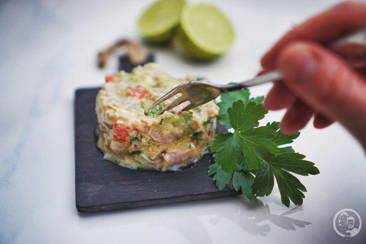 Thunfisch Ceviche, köstlich frisch, voller Eiweiß, low carb und ganz einfach zubereitet! Ein echtes Diät-Futter, genau richtig für die Strandfigur.