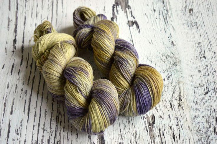 Hand Dyed Yarn, hand dyed sock yarn, 4 ply yarn, fingering yarn, British Bluefaced Leicester, bamboo yarn, Cosmos by DragonsBreatheFibre on Etsy https://www.etsy.com/listing/514164937/hand-dyed-yarn-hand-dyed-sock-yarn-4-ply