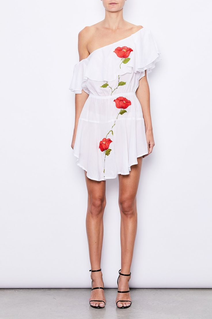 MLM Label - Mlm - One Shoulder Ruffle Dress