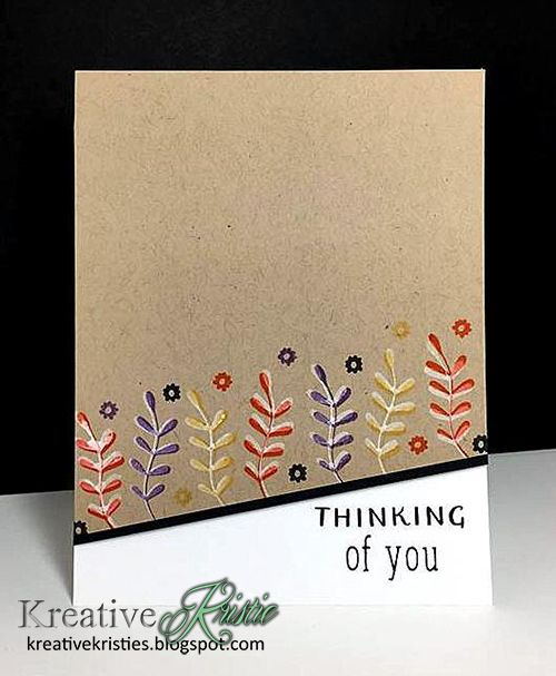Hi friends!   I have two cards to share with you today using some stamps from the Foundations Box  by Catherine Pooler. For both of my...