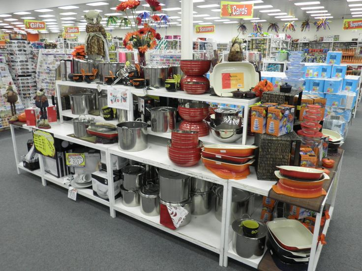 Assorted Kitchen ware at Seaford Cheap as Chips July 2010