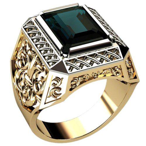 кольца золотые мужские