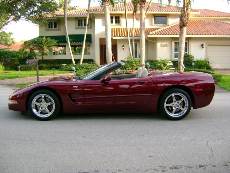 2003 50th Anniversary Corvette Convertible