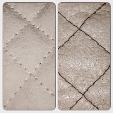 Diy: Rengjøring av Emmaljunga Leatherette (stoff)