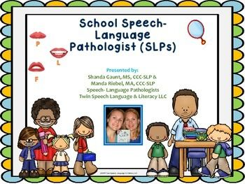 Hello!  Today we are providing a document for teachers that was developed just for them! It contains 5 tips that would be helpful for them to know as they begin school and start a relationship with their educational school speech therapists.We have provided handouts on common goal areas targeted in speech therapy, have given reference to a great screening tool, and have even made an easy to read sound acquisition chart for reference..