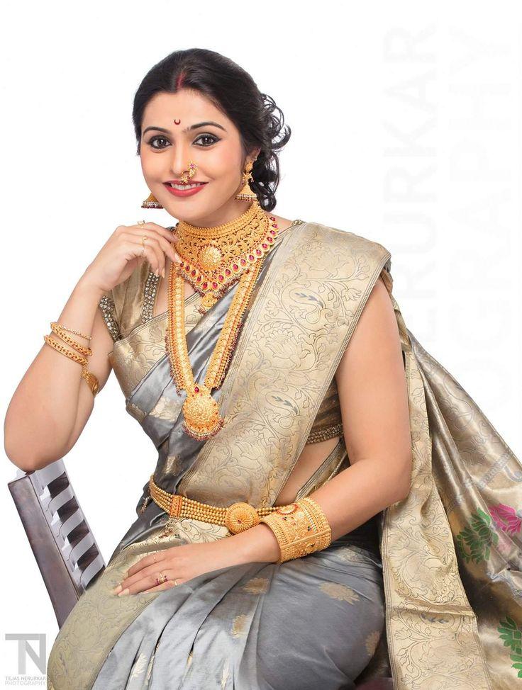 38 Best Marathi Actress Images On Pinterest  Saree, India -7543