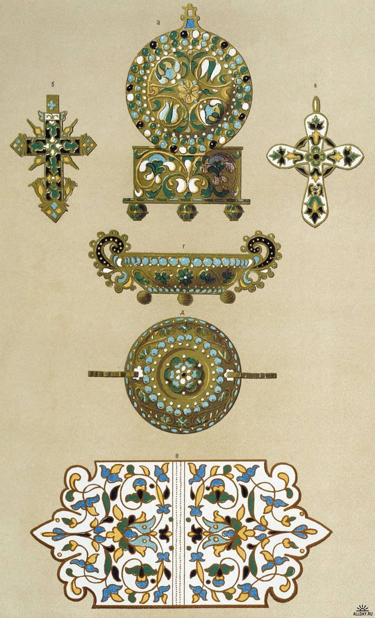 old russian ornaments