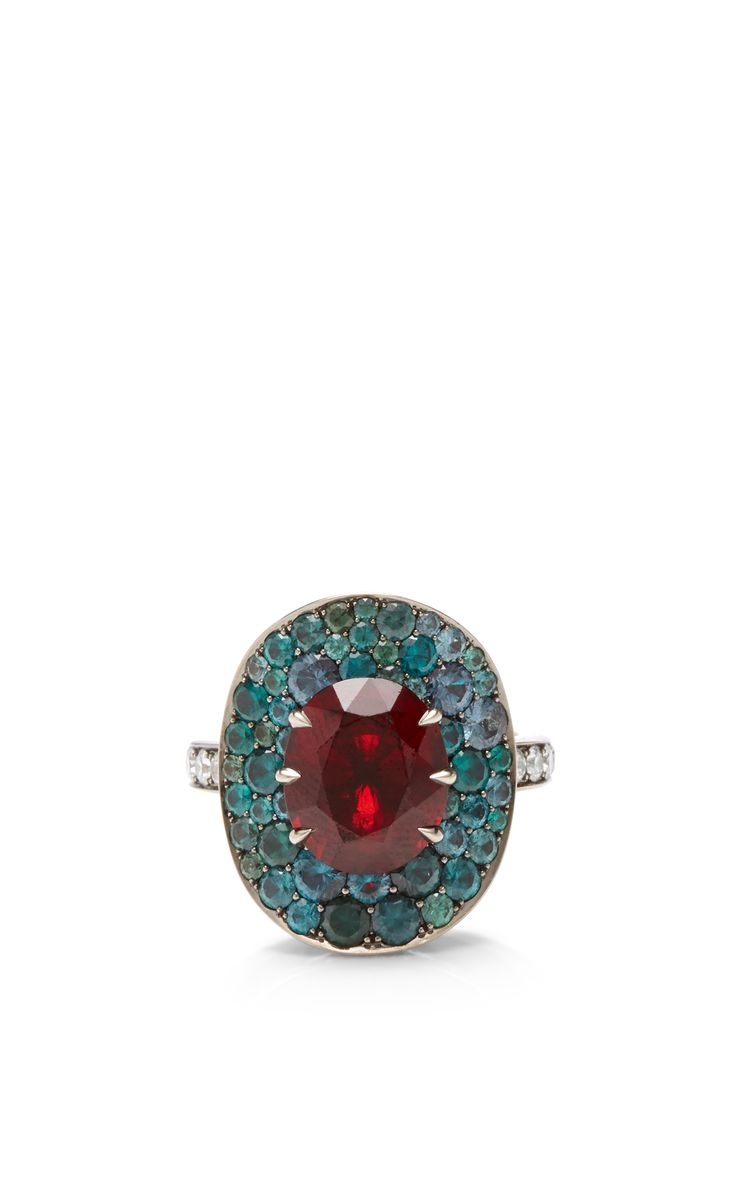 Red Spinel Ring by Katherine Jetter for Preorder on Moda Operandi