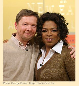 eckhart tolle with oprah