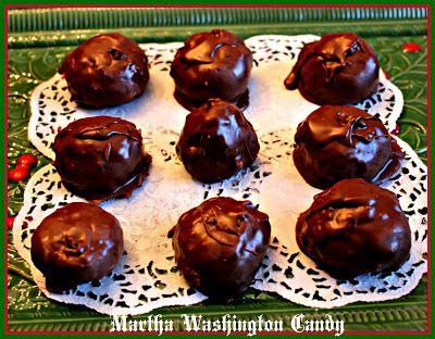 Sweet Tea and Cornbread: Martha Washington Candy!