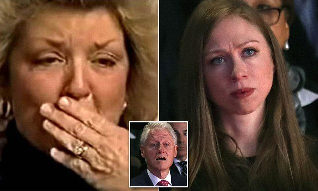 'Your parents are not good people': Clinton rape accuser slams Chelsea