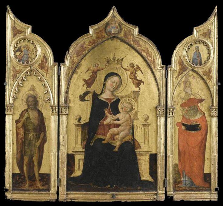 Веккьетта. Триптих. 1460 г. Музей дю Petit Palais, Авиньон.