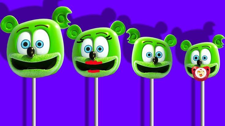 Gummy Bear Song Finger Family Lollipop Nursery Rhyme | Nursery Rhymes For Children Kids Songs