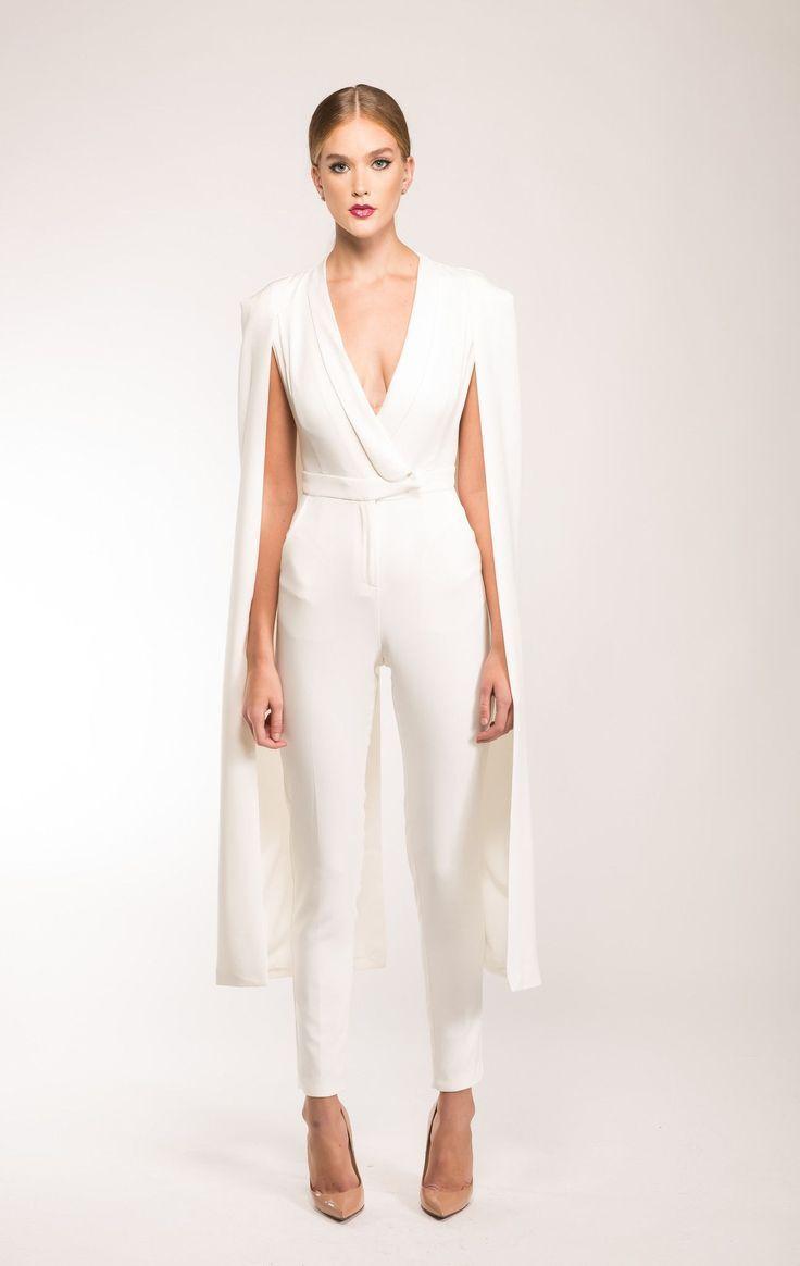 1850d2976d0 40+ Jumpsuit Wedding Dresses Ideas 4 – Fiveno