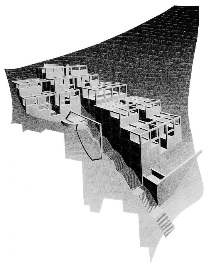 Rokko Housing II, by Tadao Ando [1985]