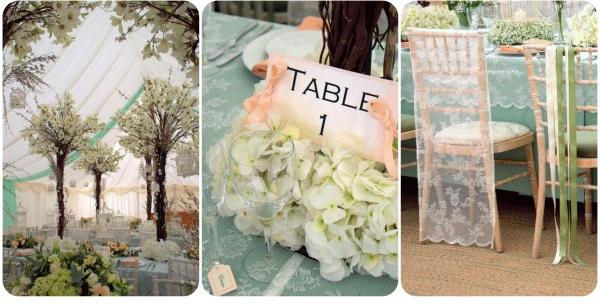 White Crafts Wedding Blog - wedding decor, flower trees