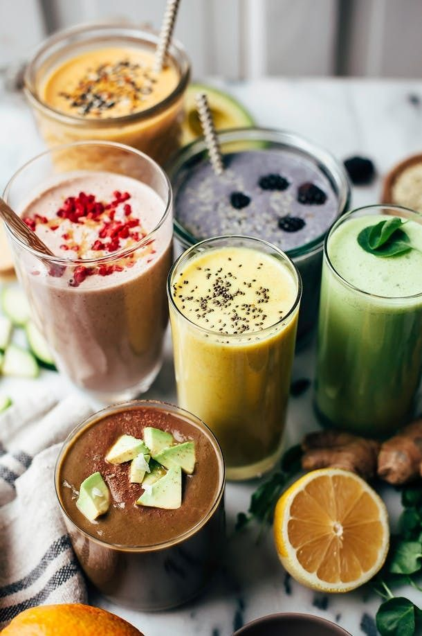 Smoothies aren't just liquid fruit and vegetables. When you boost your smoothies with hearty ingredients, they can keep you satisfied and energized for longer periods of time. Here are five smoothies that prove smoothies can be hearty as well as wholesome, and filling as well as fresh.