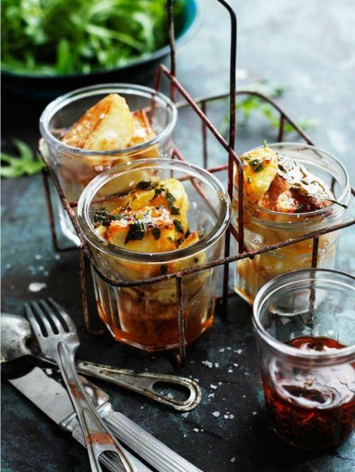 roasted-potatoes w/chimichurri