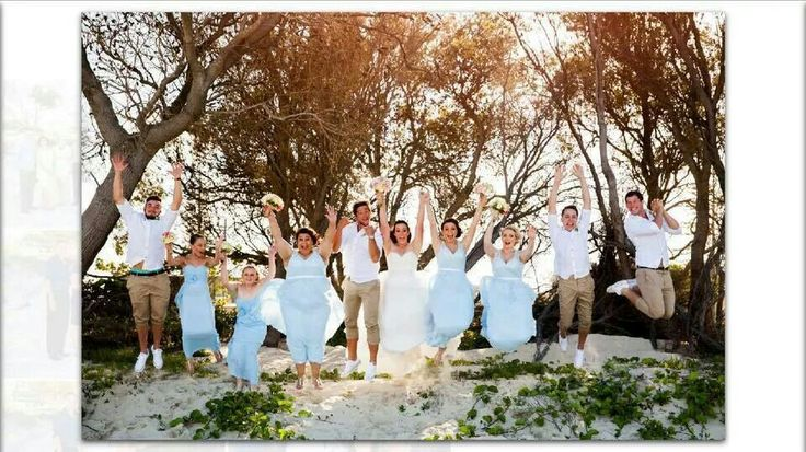 Bridal party Tim and Brits wedding
