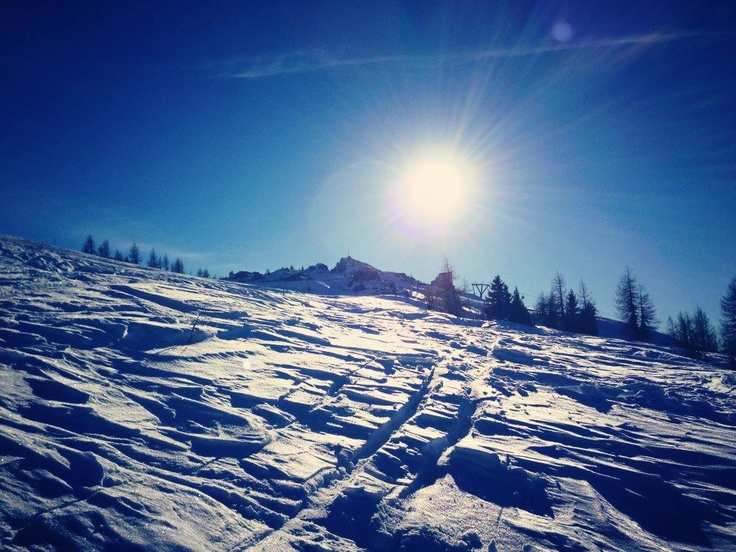 Sonne, Schnee, Skifahren in Kärnten  http://www.badkleinkirchheim.at/skigebiet-kaernten