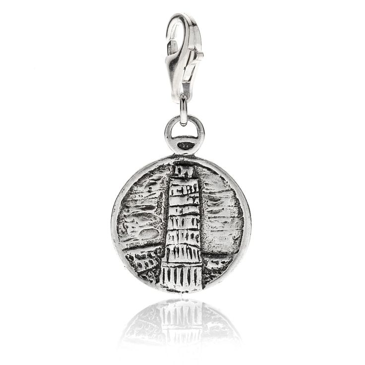Pisa Leaning Tower Charm - 29 Euro Free worldwide shipping over 99 Euro