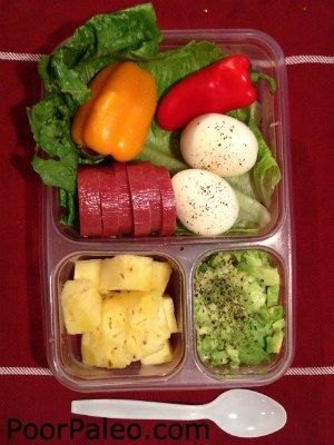 paleo adult lunch box ideas that are healthy grain free. Black Bedroom Furniture Sets. Home Design Ideas