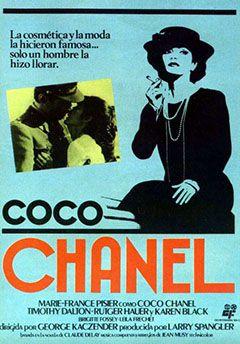 Coco Chanel (1981)  #fashion #movies http://cuchurutu.blogspot.com.es/2014/05/felizlunes-10-peliculas-sobre-moda-que.html