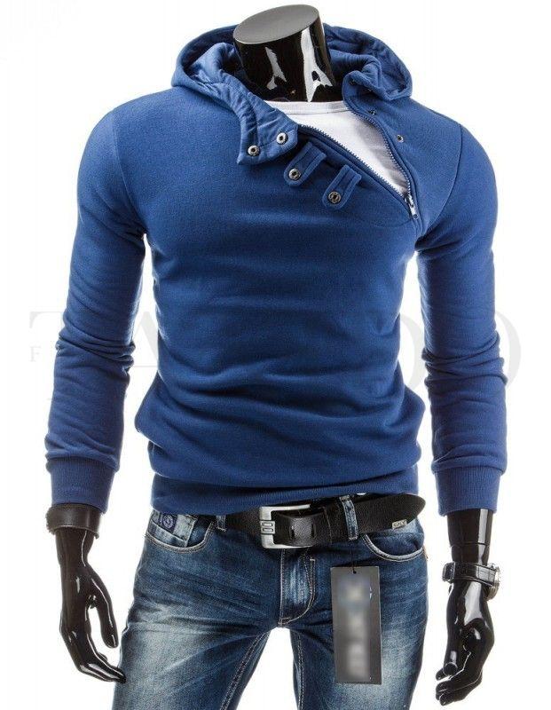 Pánská mikina - Walker, modrá