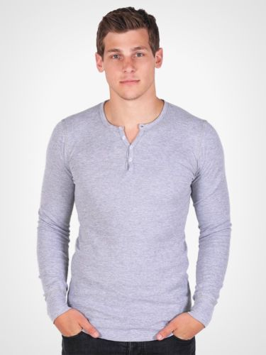 American-Apparel-Henley-Thermal-T457-Dexter-Kills-Showtime-Long-Sleeve-T-Shirt