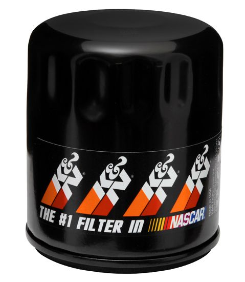#1 Oil Filter of NASCAR! K&N PS-1001 Oil Filter. K&N premium oil filters provide outstanding filtration. Their high flow design can help to improve engine performance by reducing oil filter restriction. #NASCAR #knfilters