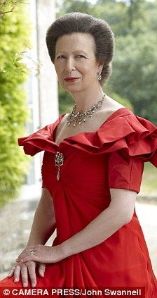 Princess Anne, Portrait taken to honor her 60th birthday.  She was born on August 15, 1950
