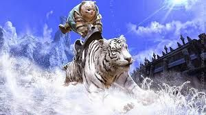 ездовые животные - бенгальский тигр