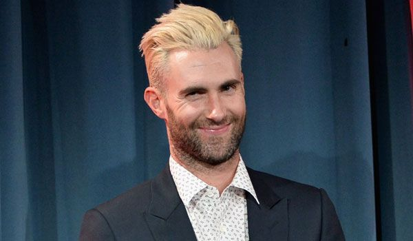Adam Levine Hair – How Long Will Adam Levine's Blonde Hair Last ...