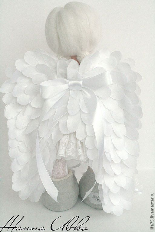 Handmade doll - Angel:
