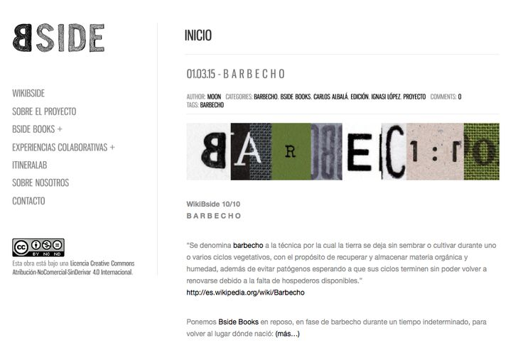 PROYECTO BSIDE - ¡NEW WEB! www.proyectobside.com  @ignasilopez y @carlosalbala